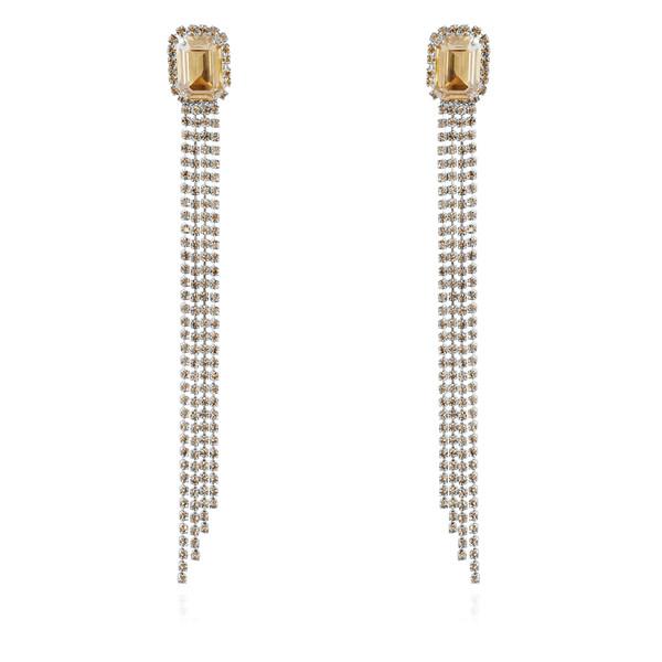 Ivy Earrings / Golden Shadow Rhodium