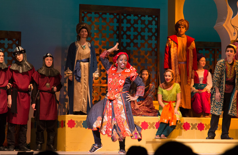 Princess Zubbediya -- Kismet, Montgomery Blair High School spring musical, April 15, 2016 performance (Silver Spring, MD)