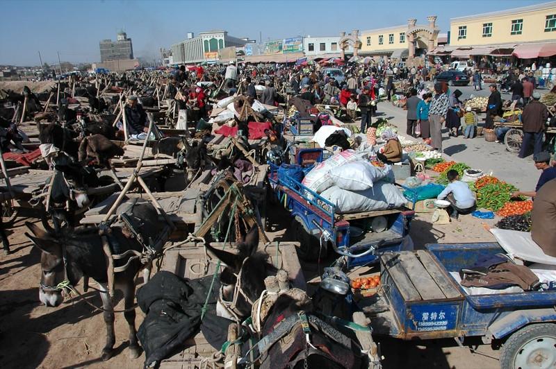 Kashgar Sunday Market - China