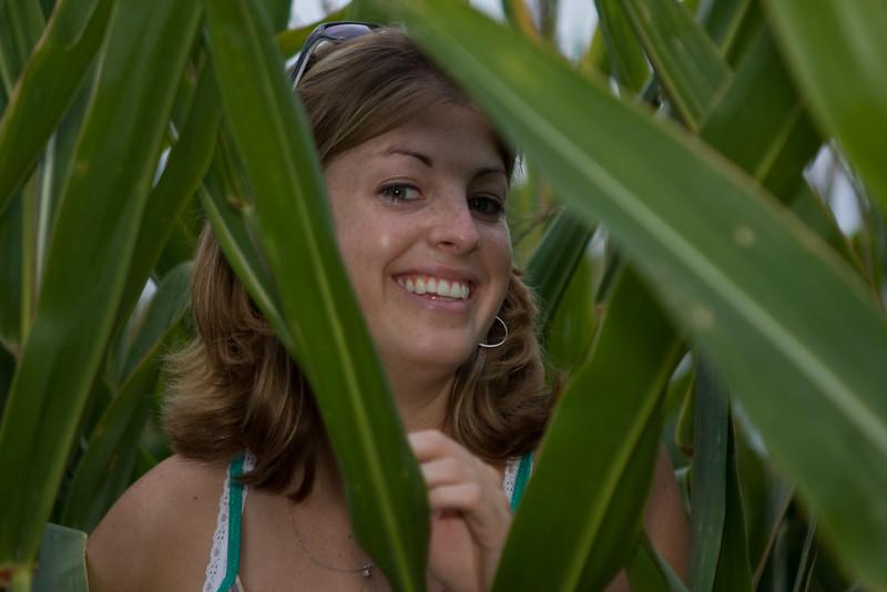 Lori Eggers hiding