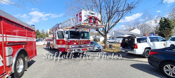 House Fire - Meadow Ave, Medford, NY - 3/14/21