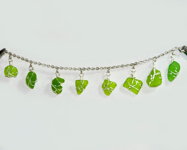 Green Beach Glass