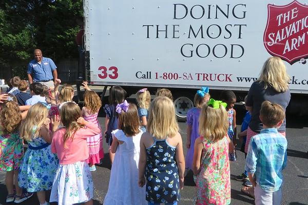 Salvation Army Truck - MBCA and Preschool