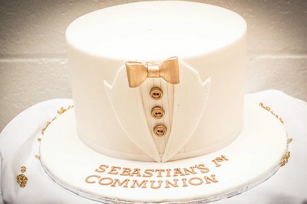 Sebastian's 1st Communion
