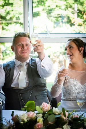 Keiley and Tom - Wedding Breakfast