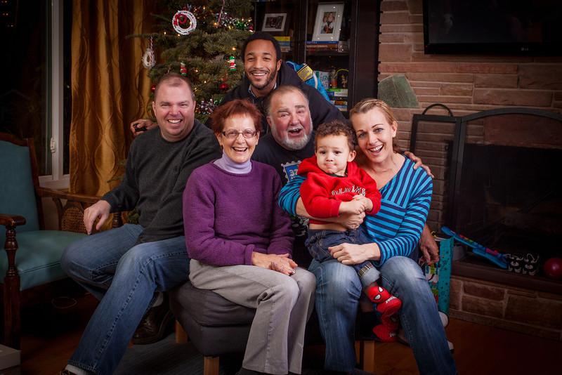 Last Family photo of  2012