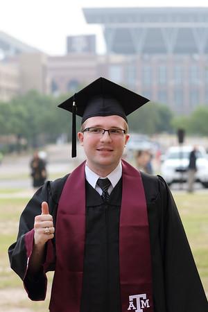 Evan's Texas A&M Graduation