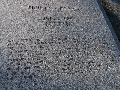 Fountain of Time, Lorado Taft