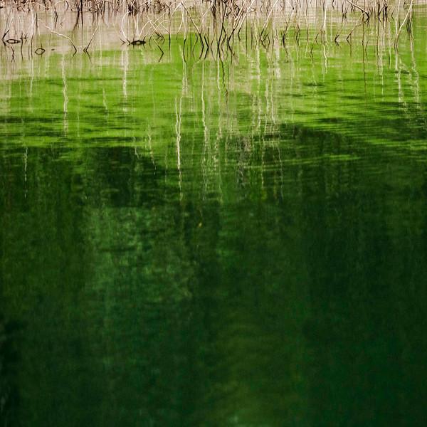 Abstraction, Lake Arenal