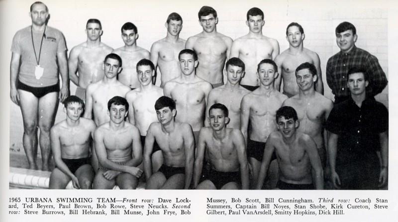 Urbana Swimming Team