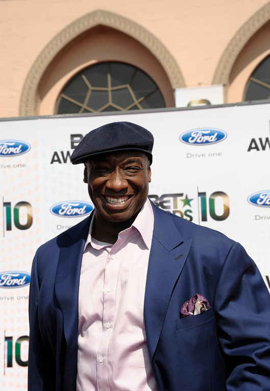 ". Michael Clarke Duncan arrives at the BET Awards on Sunday, June 27, 2010 in Los Angeles. ""Amanda Todd\"" ranked as Google\'s third most searched trending person of 2012. Michael Clarke Duncan ranked as Google\'s fourth most searched trending person of 2012. (AP Photo/Dan Steinberg)"