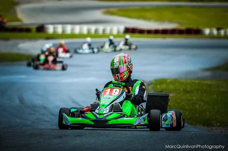 Motorsport Ireland Karting Championship 2014 - Round 4 - Galway