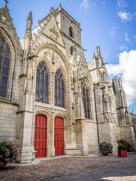Ploermel Cathedral France