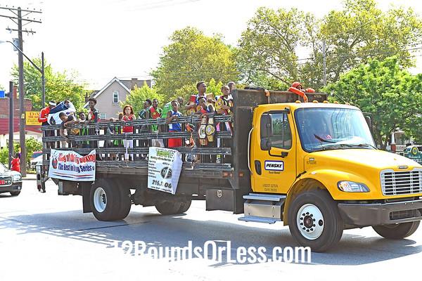 Parade at Glenville Festival