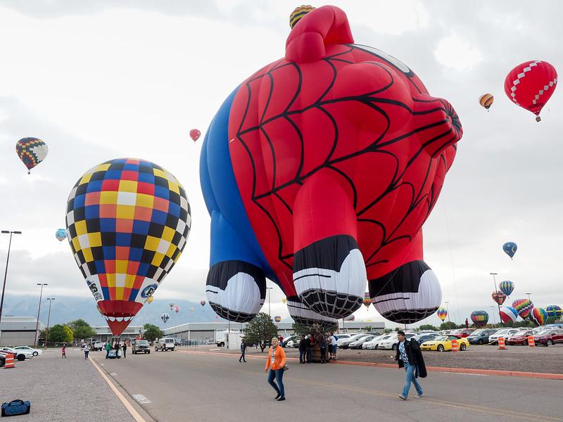 Spiderpig at the Albuquerque International Balloon Fiesta