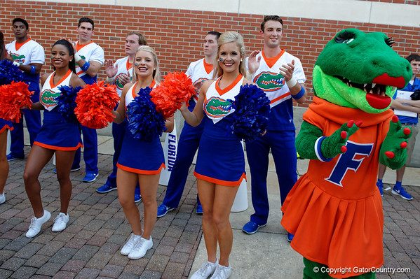 Florida Gators Walk UMASS  09-03-2016