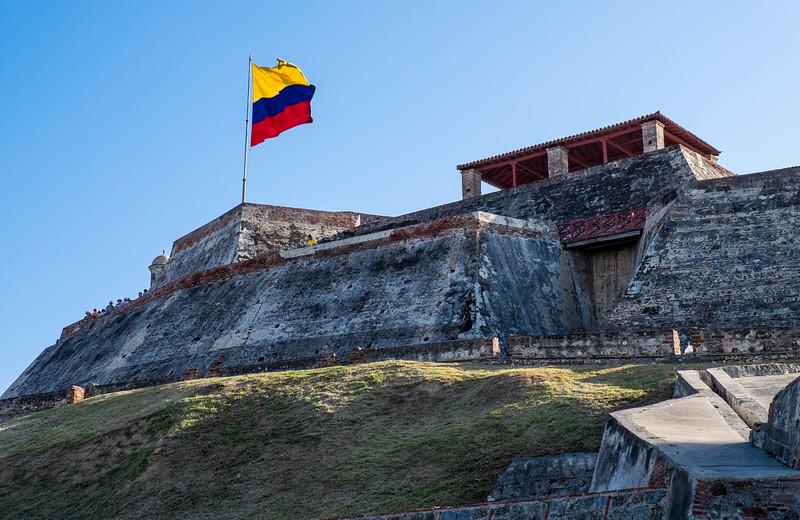Cartagena Columbia Fortress