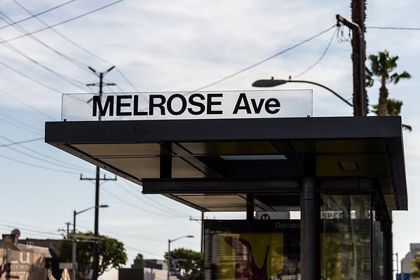 Urban Hiking - Melrose Ave