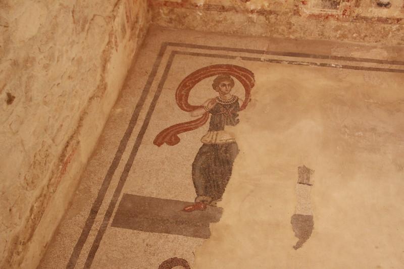 290 AD Roman mosaics