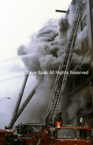 10-10-79  Brooklyn 5 Alarm Fire  - Plastic Factory