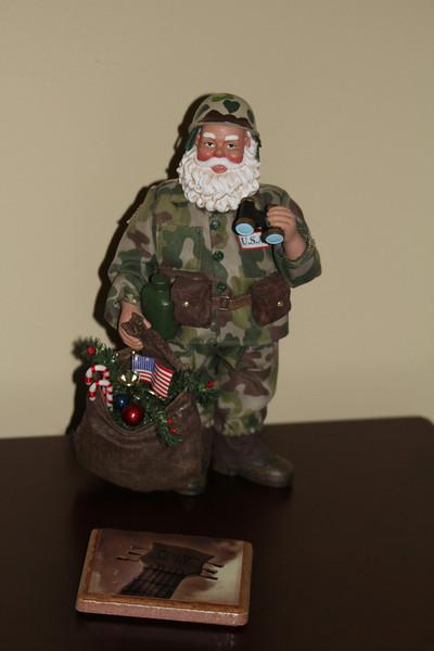 GI Santa makes his appearance again