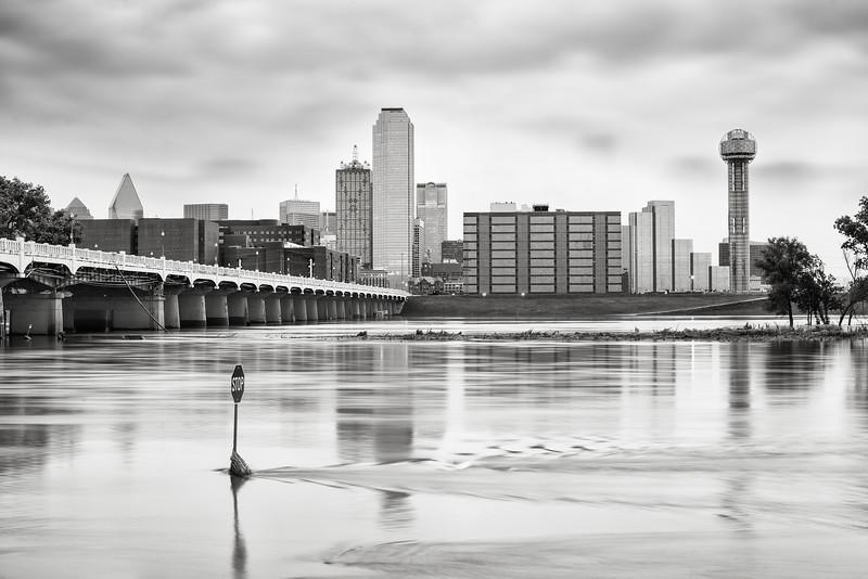 Trinity River Flood in Dallas