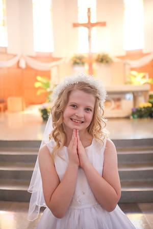 Addyson's First Communion