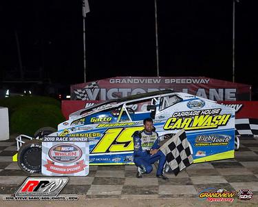 Grandview Speedway - 8/25/18 - Steve Sabo (SDS)