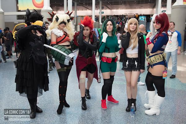 LA Comic Con 2018 Day 2 - Saturday gallery 2