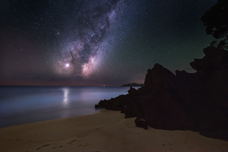 Rocky Shore and Bioluminescence