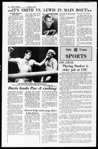 Daily Trojan, Vol. 61, No. 14, October 02, 1969
