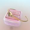 1.91ct Rustic Rose Cut Diamond Bangle in Yellow Gold 0