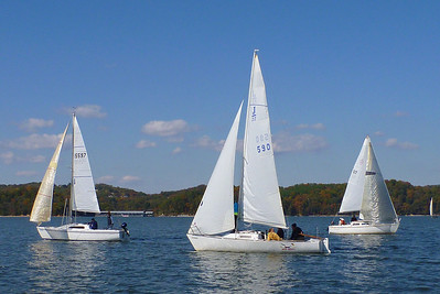 PYC Halloween regatta 2011