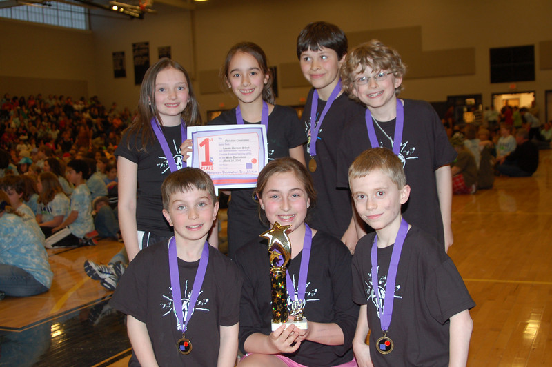 Lincoln Akerman School, Hampton Falls. Operation Cooperation, 1st place.
