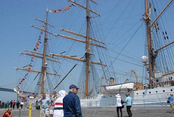 Tall Ships: USCG Eagle and Bounty