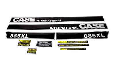 CASE IH 885XL SERIES BONNET DECAL SET