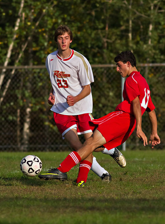 Pittston at Redeemer Soccer 09/20/11