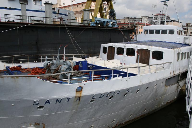 2009 - SANTA LUCIA L laid up in Napoli.