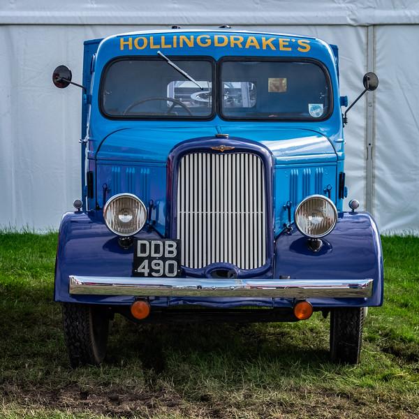 1936 Dodge 'Hollingdrake Auto Mobile Co Ltd' reg DDB 490