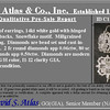 Snowflake-Motif Diamond Earrings 6
