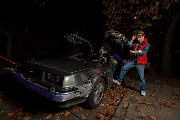 2015 Back To The Future Party Photobooth