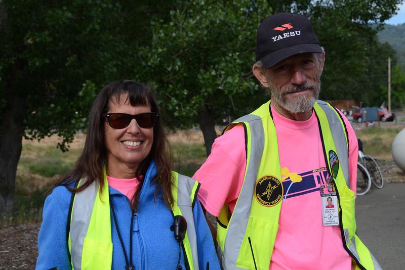 Capell Valley: radio communications (Lu King W6FJX, Ken Wilson K6WLS)