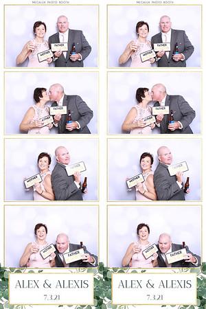 Alex & Alexis Wedding Prints