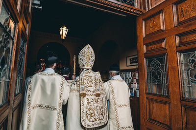 Solemn Pontifical Mass with Bishop Gainer