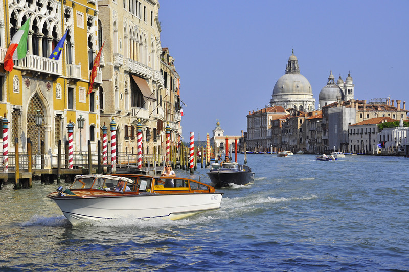 the Venetian Grand Canal