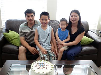Jason's 6th Birthday