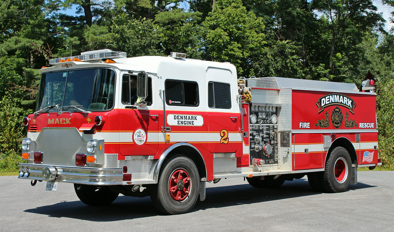 Retired   Engine 2   1984 Mack CF / Pierce   1500 / 1000