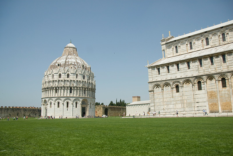 The Dome at the Cathedral of Pisa in Pisa, Italy