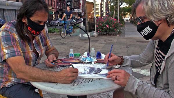 interdependent street portraits