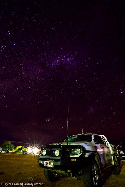 Starry night at Windorah
